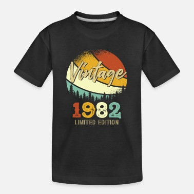 Vintage 1982 Limited - Teenager Organic T-Shirt