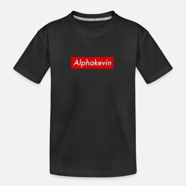 Alphakevin Kevin Comedy First Name Humor Irony Name - Teenager Organic T-Shirt