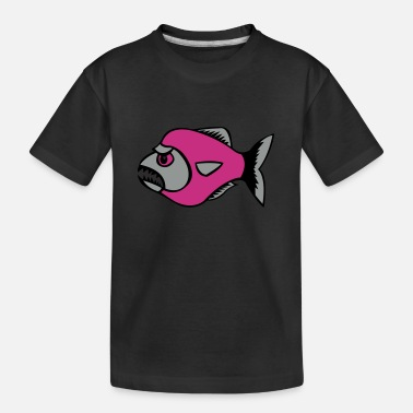 piranha - Teenager Bio T-Shirt