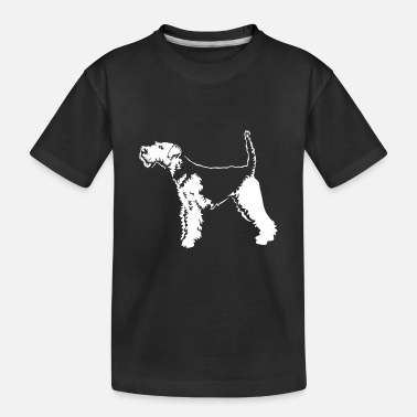 Laufen Welsh Terrier Black Edition - Teenager Bio T-Shirt