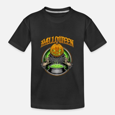 Halloween pumpkin - Teenager Organic T-Shirt