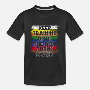 Judo Atleten trainen - Teenager biologisch T-shirt
