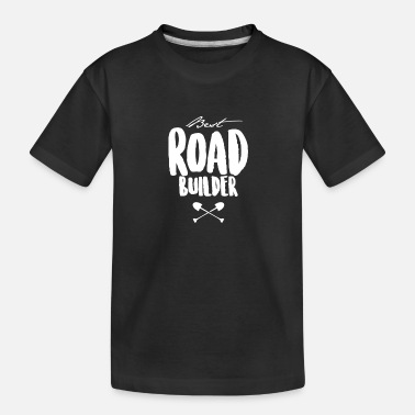 Asphalt Road construction Road construction Road construction team - Teenager Organic T-Shirt