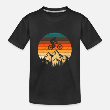Tain Mountain bike downhill retro vintage gift - Teenager Organic T-Shirt