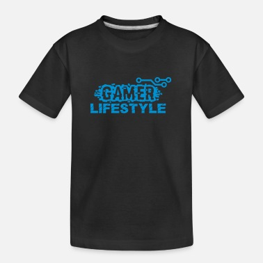 Sport Gamer Lifestyle 02 - Teenager T-shirt økologisk