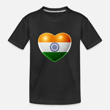 India Heart (India / India) - Teenager Organic T-Shirt