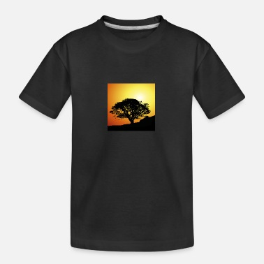 Sunset Sunset sunset tree - Teenager Organic T-Shirt