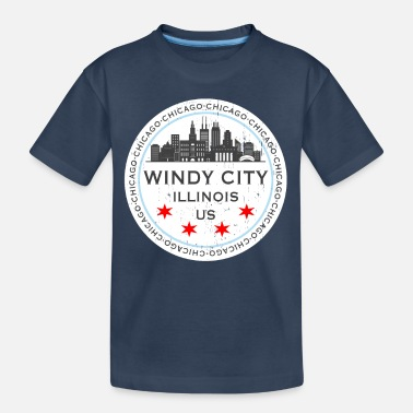 Chicago The Windy City Chicago Illinois US - Teenager Bio T-Shirt