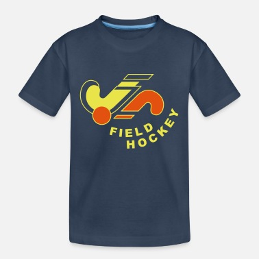 Hockey Field hockey logo - Teenager Organic T-Shirt