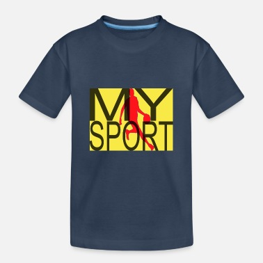 My Sport Handball - Teenager Organic T-Shirt
