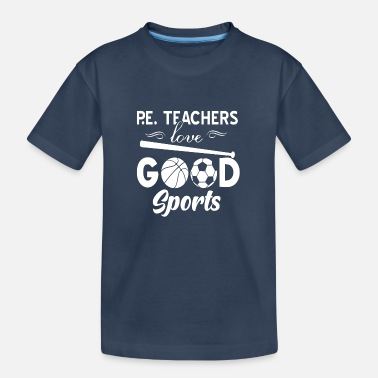 Physical Education physical education teacher - Teenager Organic T-Shirt