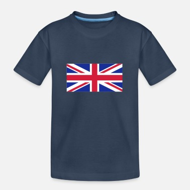 Großbritannien - Union Jack - Teenager Bio T-Shirt