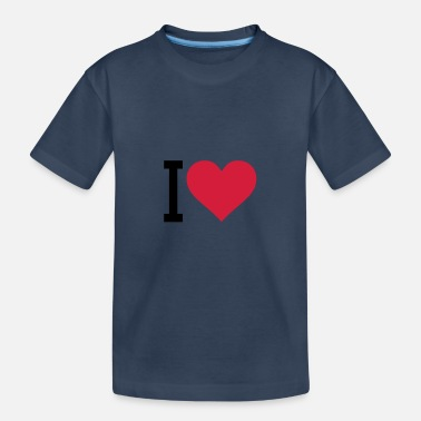 I Heart i heart - Teenager Organic T-Shirt