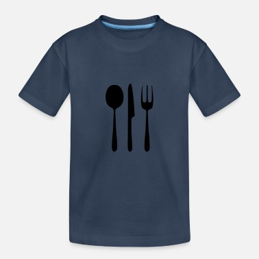 Cutlery cutlery - Teenager Organic T-Shirt
