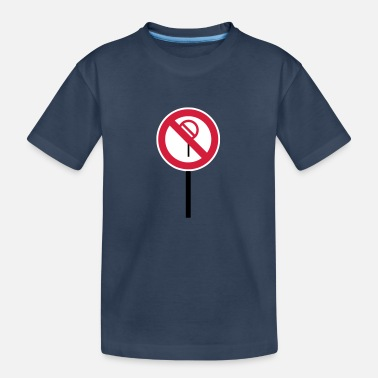 Sign Prohibitions prohibited - Teenager Organic T-Shirt