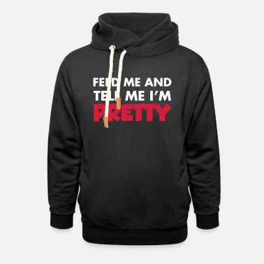 Pretty Pretty - Felpa con colletto alto unisex