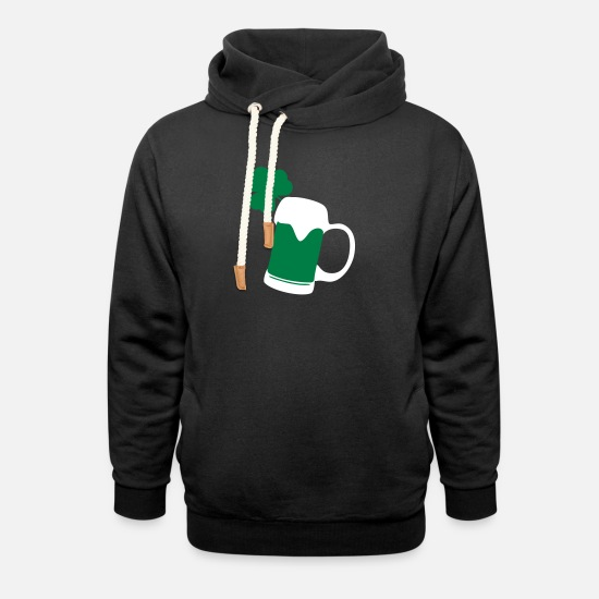 Beer Felpe - Irish Beer - Felpa con colletto alto unisex nero