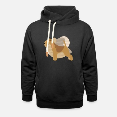 Ixco Dogs Collection by IxCÖ #Lakeland - Unisex Shawl Collar Hoodie