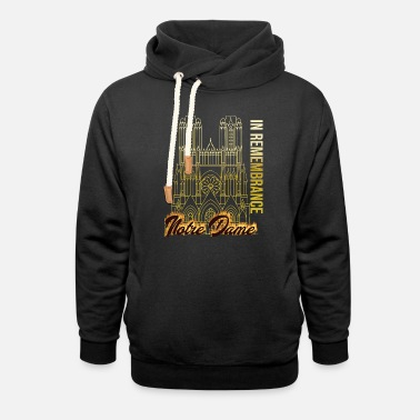 Memory In memory of Notre Dame - Unisex Shawl Collar Hoodie