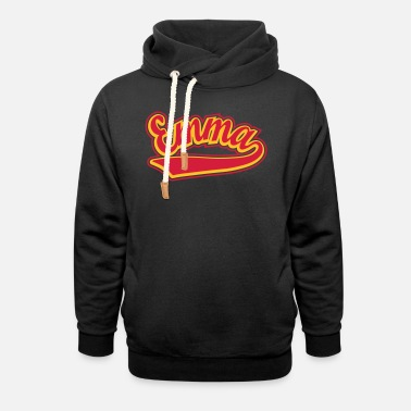 Personalised Emma - T-shirt Personalised with your name - Unisex Shawl Collar Hoodie