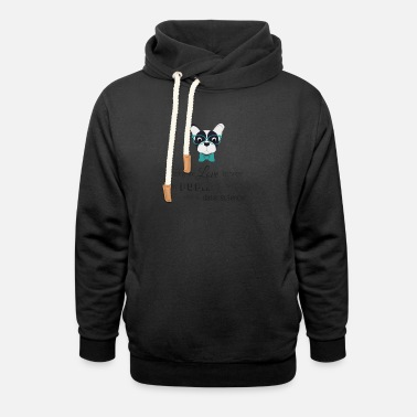 Data Love for pup and data science - Unisex Shawl Collar Hoodie