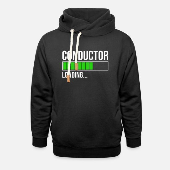Gift Idea Hoodies & Sweatshirts - Conductor in training choir orchestra gift - Unisex Shawl Collar Hoodie black