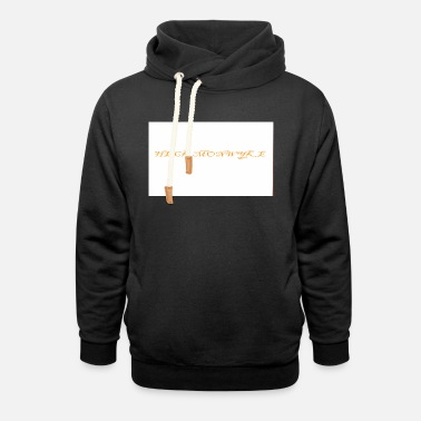 Europe M.Ps CROOKS WHATS THE DIFFERENTS - Unisex Shawl Collar Hoodie