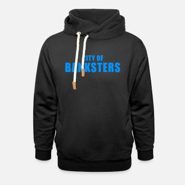 Money-grubbing CITY BANKSTER GIFT BANK BANKER FINANCE MANAGER - Unisex Shawl Collar Hoodie