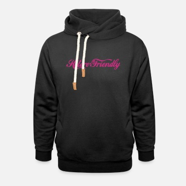 Fun hetero friendly - Unisex Shawl Collar Hoodie