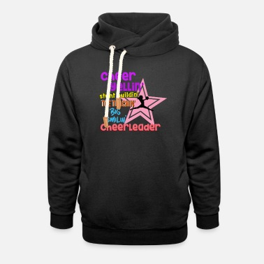 Cheerleader Cheer Quotes Cheerleader - Sweat à capuche cache-cou unisexe