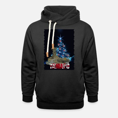 YAMATO Christmas collection - Unisex Shawl Collar Hoodie
