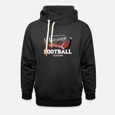 Highschool Football, Defense Line, Highschool Football - Unisex Schalkragen Hoodie