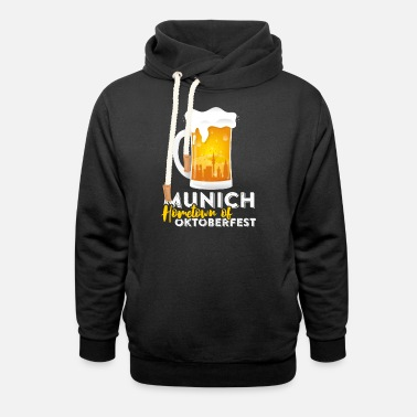 Hometown Hometown of Oktoberfest - Unisex Shawl Collar Hoodie