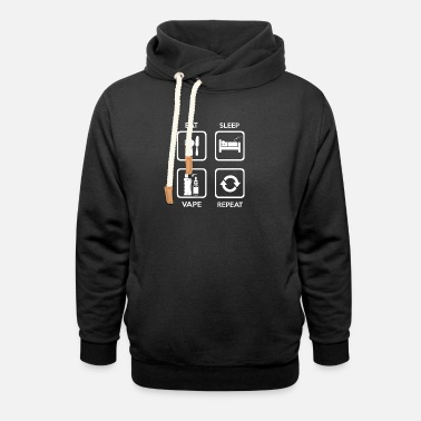Vaping circle - Unisex Shawl Collar Hoodie