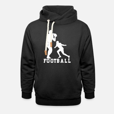 football - Unisex Shawl Collar Hoodie