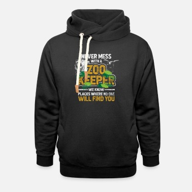 Zoo Animal Zoo animal Zoo Zoo animal keeper - Unisex Shawl Collar Hoodie