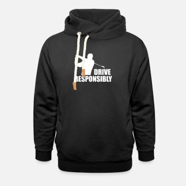 Golf Rules golf - Unisex Shawl Collar Hoodie