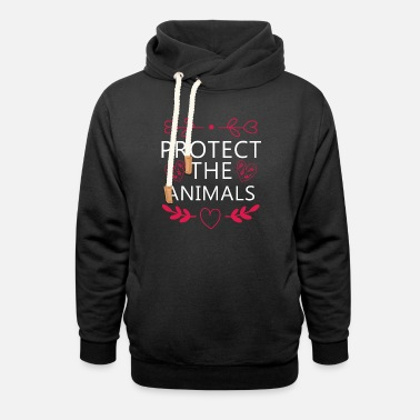Animal Welfare animal welfare - Unisex Shawl Collar Hoodie