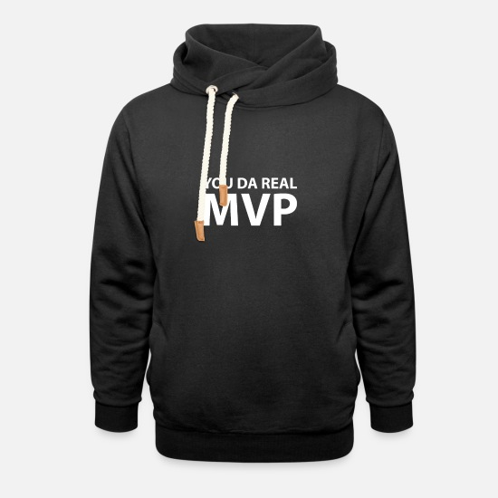 Meme Sweat-shirts - You Da Real MVP - Sweat à capuche cache-cou unisexe noir