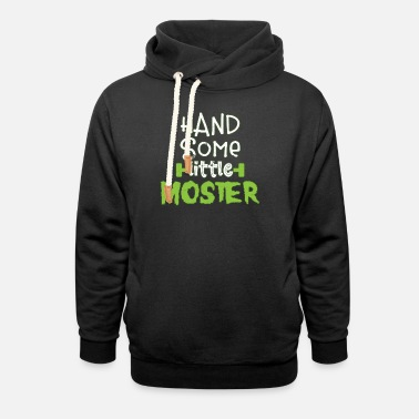 Scary Monster Halloween scary monster - Unisex Shawl Collar Hoodie