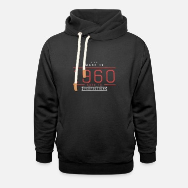 Birthday - 1960 - 60 years - gift - Unisex Shawl Collar Hoodie