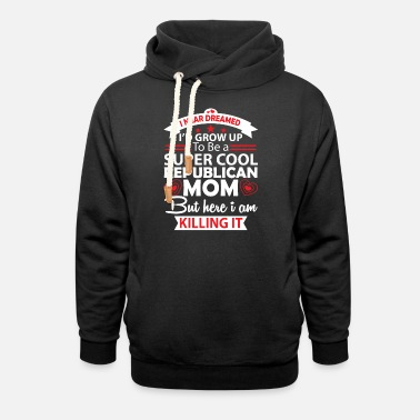 Comedy I Never Dreamed Grow Up - Sweat à capuche cache-cou unisexe