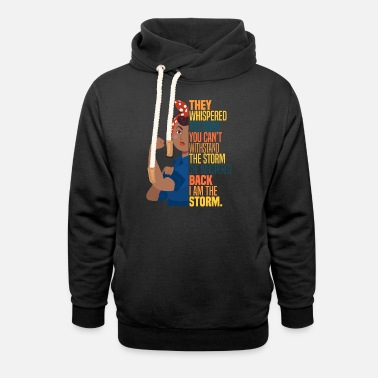 Afrocentricity Women's Empowerment Afrocentric Pride Feministisc - Unisex Shawl Collar Hoodie