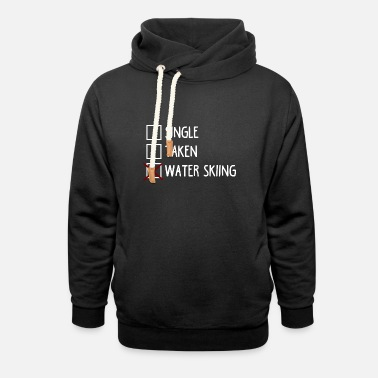 Easy Only water skiing - Unisex Shawl Collar Hoodie