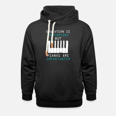 Musical Instrument Music instrument melody - Unisex Shawl Collar Hoodie