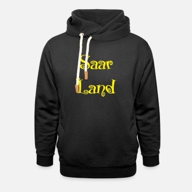 Federal State Saarland Federal State Germany - Unisex Shawl Collar Hoodie