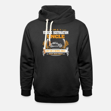 Vehicle Restoration Uncle Shirt Gift Idea - Unisex Shawl Collar Hoodie