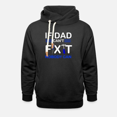 Fathers Father's Day gift father paternity - Unisex Shawl Collar Hoodie
