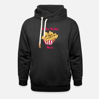 Visit The Cinema Nachos baked with cheese cinema visit gift - Unisex Shawl Collar Hoodie