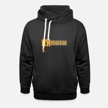 Rhythms Beatboxing Hip Hop Rap Techno Music Beats Gift - Unisex Shawl Collar Hoodie